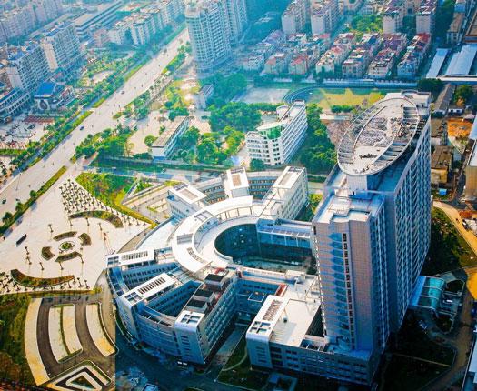 پزشکی در چین، دانشگاه علوم پزشکی گوانگشی چین