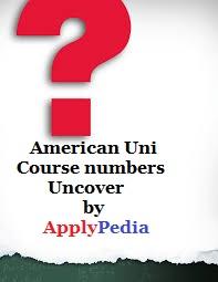سیستم عدد گذاری یا شماره بندی واحد درسی آمریکا دروس دانشگاهی در ایالات متحده: